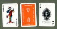 Collectible Advertising  Guinness playing cards